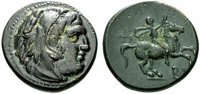 AE 20 de Filipo III de Macedonia 625075.m