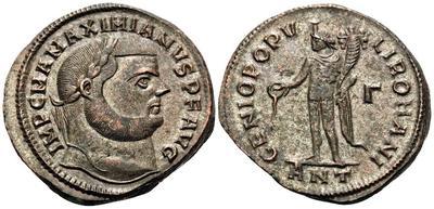 Nummus de Galerio?. GENIO POPVLI ROMANI.  5810569.m