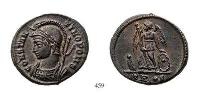 AE3 Conmemorativo de la ciudad de Constantinopla. Tesalónica 1025779.m