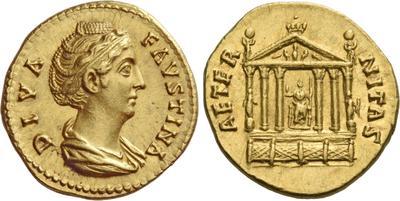 Glosario de monedas romanas. HEXÁSTILO, templo. 3886346.m