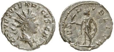 Antoniniano de Tétrico II. SPES AVGG o SPES PVBLICA. Trier 3259015.m