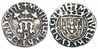 1 Vintem (20 reis). Manuel I de Portugal 976172.m