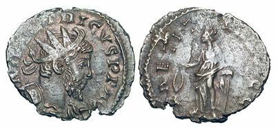 Antoniniano de Tétrico I. LAETITIA AVGG 1334829.m