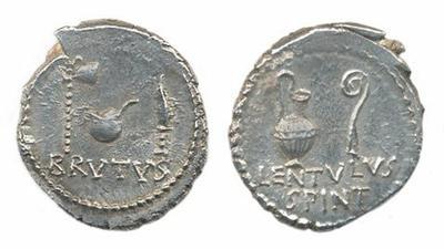 Vendedor de eBay: antiquiti / Denario falso de Bruto. Bulgaria manda :roto2: 846996.m