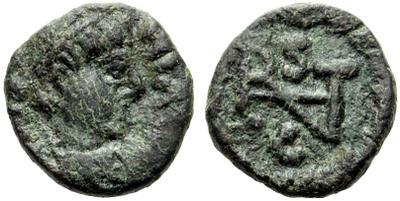 2 1/2 nummi ostrogodo de Atalarico a nombre de Justiniano I. 1265389.m