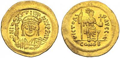 Sólido de Justino II (565-578) 2437223.m