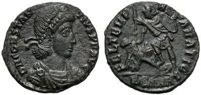 AE2 de Constancio II. FEL TEMP REPARATIO. Roma 2658023.m
