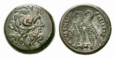 AE20. Ptolemaica reino de Egipto. 1738557.m