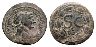 AE28 Provincial de Trajano o Adriano. Antioquía 1860271.m