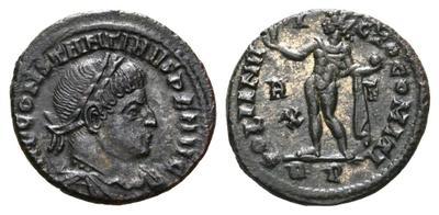 Nummus de Constantino I. SOLI INVICTO COMITI. Roma 2248090.m