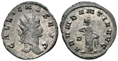 Antoniniano de Galieno. ABVNDANTIA AVG. Roma 2434275.m