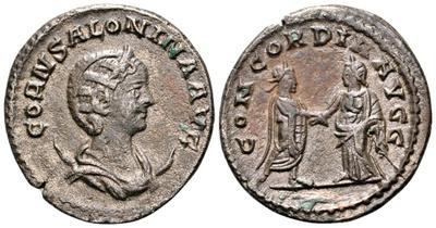 Antoniniano de Salonina. CONCORDIA AVGG. Antioquía 2926196.m