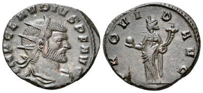 Antoniniano de Galieno.  PROVID AVG.  Milán 3487955.m