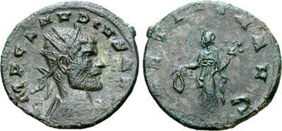Antoniniano de Claudio II. LAETITIA AVG. Siscia 6766040.m