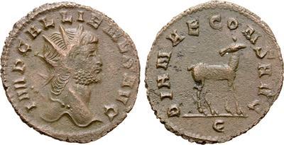 Antoniniano de Galieno. DIANAE CONS AVG. Roma  7028173.m